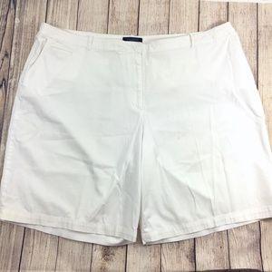 Talbots Shorts - Lot of 3 Talbots Woman Plus Sz 22W Chino Shorts
